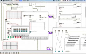 Mixer for Max/MSP